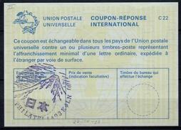 PHILATELIA 93 KÖLN Special Postmark With Mount Fuji / Japan On International Reply Coupon Reponse Antwortschein IAS IRC - Expositions Philatéliques