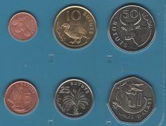 GAMBIA COIN SET 6 MONNAIES: 1 BUTUT - 1 DALASI 1998 - 2011 ANIMALS - Gambia