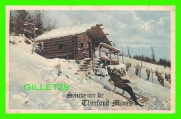 SOUVENIR DE THETFORD MINES EN HIVER - SERIE 7064 - - Souvenir De...