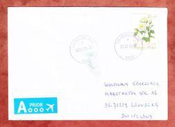 Luftpost, EF Rose, Lovendegem Nach Leonberg 2016 (42292) - Briefe U. Dokumente