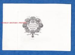 Document Ancien Vierge Vers 1864 - MARSEILLE - Fabrique De Semoule Joseph BRUNET Rue Des Convalescents - Modèle En Tête - 1800 – 1899
