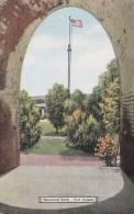 Georgia Savannah Squeezed Arch Fort Pulaski National Park