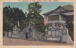 Georgia Cairo Entrance To Pope Museum