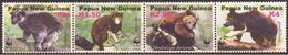 PAPUA NEW GUINEA 2003 MNH - WWF Kangaroos, Complete Set Of 4v. - W.W.F.