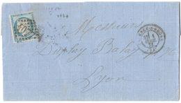 LETTRE N°60A2 ;119 TTB - 1871-1875 Cérès