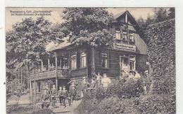 """Nieder-Einsiedel (Nordböhmen) - Café """"Charlottenthal"""" - Oesterr.Frankatur    (171010) - Repubblica Ceca"""