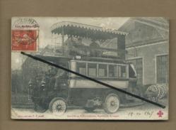 CPA Abîmée -   Omnibus Automoblies , Système Krieger  - Compagnie Générale Des Omnibus (bus , Autocar ) - Buses & Coaches