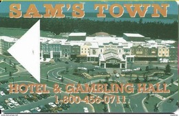 Sam's Town Casino - Hotel Room Key Card - Hotel Keycards