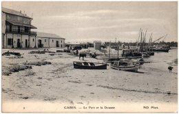 TUNISIE - GABES - Le Port Et La Douane   (Recto/Verso) - Tunesië