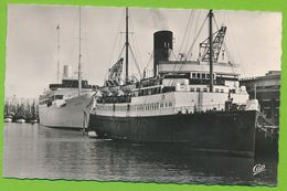 """BOULOGNE-SUR-MER - Le M/Y """"Stella Polaris"""" Liner Bergen Line Et Le """"Canterbury"""" Ferry Boat à Quai - Boulogne Sur Mer"""