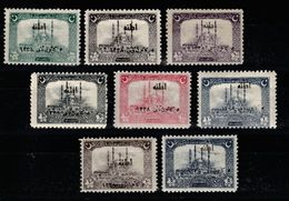 Overprinted Second Adana Commemorative Issue Set 1922 MNH** - Nuevos