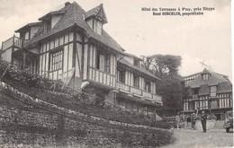 CPA -  76,  PUY, Hotel Des Terrasses, Pres Dieppe, Rene Hincelin, Proprietaire - Dieppe