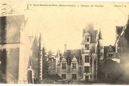 CPA N°11017 - LOT DE 2 CARTES DE SAINT MARTIN DU BOIS - CHATEAU DU PERCHER - France