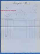 Document Ancien Vierge 19e - ITALIE / ITALY - Lanificio Rossi - Italie