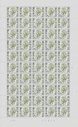 COB 1716 ** - Feuille Complète - Coin Daté Du 29/04/1974 - Numéro De Planche 4 - Full Sheets