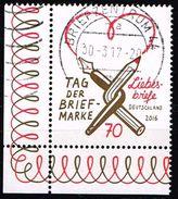 Bund 2016, Michel# 3259 O Tag Der Briefmarke - BRD