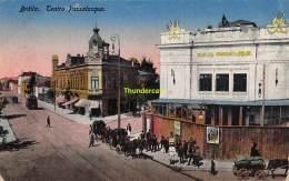 CPA  ROUMANIE ROMANIA BRAILA TEATRU PASSALACQUA - Roumanie