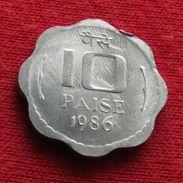 India 10 Paise 1986  Inde Indie UNCºº - Inde