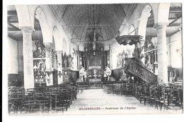 Ellezelles Intérieur De L'église Léon Moreau Liétard 1911 - Ellezelles