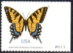 Timbre USA Adhésif - Papillon Glauque - 2015 - Bord De Feuille Avec Code-barre Au Verso ** - Neufs