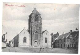 Ellezelles L'église Bon état Peu Commune Non Circulée Léon Moreau Liétard - Ellezelles
