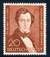 "1951 Berlin (Germany) MLH Complete Set Of 1 Stamp, Composer ""Albert Lortzing"" Michel # 74 - [5] Berlin"