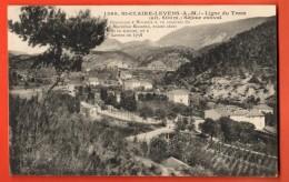 NEQ-30  Sainte-Claie Levens  Ligne Du Tram. Masséna. Circulé - Autres Communes