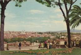 Italy Roma Rome Veduta Panoramica dal Gianicola