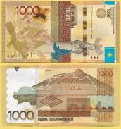 Kazakhstan 1000 TengeP-46 2014(2017) (without Signature) UNC - Kazakhstan