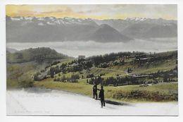 Rigi Kulm Und Die Alpen - Goetz 1848 - Undivided Back - LU Lucerne