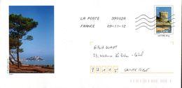 2- FRANCE Prêt à Poster Entier CALVI CORSE 20 - PAP : Altri (1995-...)