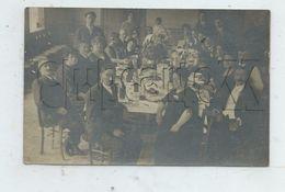 Saint-Waast-la-Vallée (59): GP D'un Banquet Donné En L'honneur Des Poilus Env 1920 (animé) CP PHOTO RARE. - Andere Gemeenten