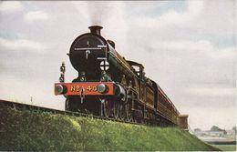 Vintage Railway Postcard LBSCR H1 40 C1910 Express LB&SCR Atlantic SR Loco - Trains