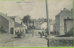 Bertrix - Bohémont Animé - Attelage - Circulé Vers Allemagne 6-11-1914 Feldpost - SUPER - Bertrix