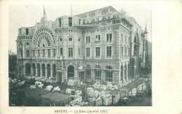 ANVERS - La Gare (Janvier 1903) - Antwerpen