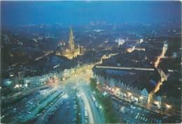 CPM - BRUXELLES Au Crépuscule - Bruxelles La Nuit