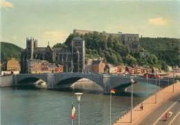 CPM - HUY-sur-MEUSE - Citadelle Et Collégiale - Huy