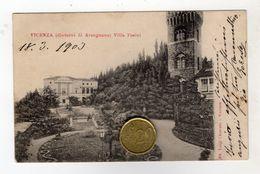 VICENZA ARENGNANO VILLA PASINI 1903 - Vicenza