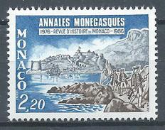 Monaco YT N°1531 Annales Monégasques Neuf ** - Monaco