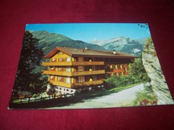 HOTEL BELLEVUE CH 3823 WENGEN PROPRIETAIRE FRAU D BERTOLLI  LE 1 06 1983 - Switzerland