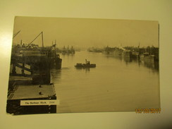 THE HARBOUR BLYTH , SHIP BOAT FERRY STEAMER , OLD POSTCARD , 0 - Inghilterra