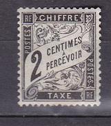N° 11 Taxes Type Duval: 2c Noir Timbre Neuf Avec Une Infime Trace De Charnière Beau Timbre - Taxes