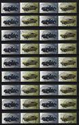 BUND Mi-Nr. 3213 - 3214 X 18 Klassische Deutsche Automobile Gestempelt (1) - BRD
