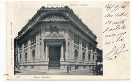 CPA - ARGENTINE - BUENOS AIRES + Banco Español - Argentine