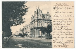 CPA - ARGENTINE - BUENOS AIRES - Avenida Callao - Argentine