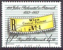 ÖSTERREICH 1985 Mi-Nr. 1806 O Used - Aus Abo - 1981-90 Gebraucht