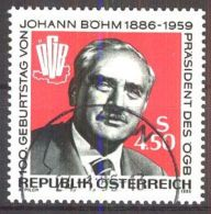 ÖSTERREICH 1986 Mi-Nr. 1836 O Used - Aus Abo - 1981-90 Gebraucht