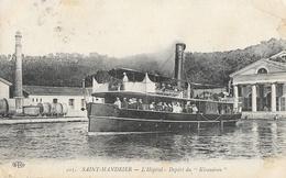 St Saint Mandrier - L'Hôpital De La Marine - Départ Du Kiraudren - Carte E.L.D. N° 503 - Saint-Mandrier-sur-Mer