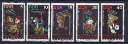 DDR   1025- 1029   Gestempelt - DDR