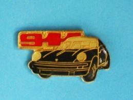 1 PIN'S  //  ** PORSCHE 911  ** - Porsche